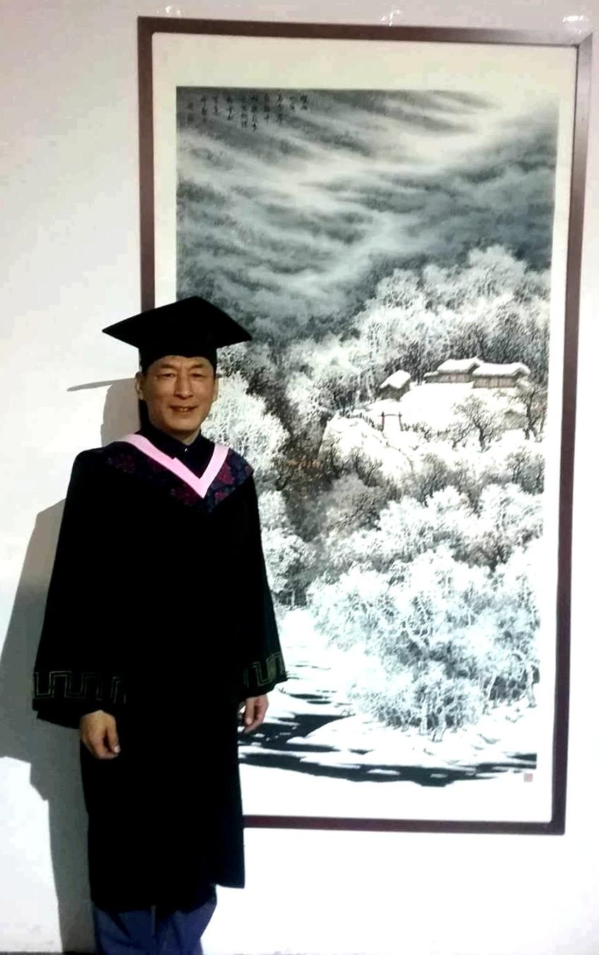 著名画家王延广
